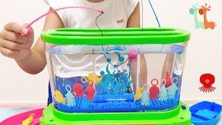 アクアリウムのような さかな釣り おもちゃ / Aquarium Fishing Game Toy