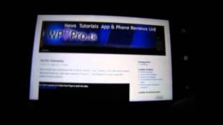 Internet Explorer auf Windows Phone 7