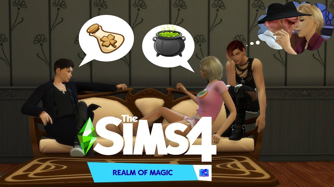Potions And Priorities   The Sims 4 Realm Of Magic🔮 (Part ...