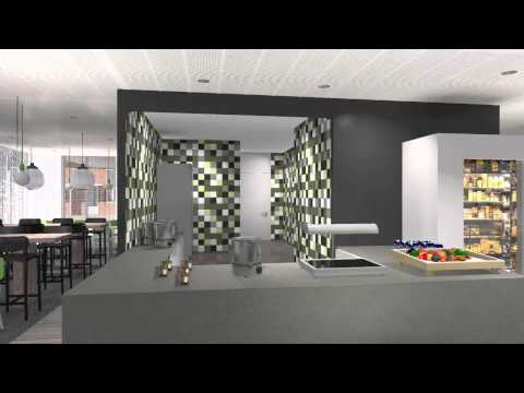 Architectural Animation Interior Office Building, Eindhoven Netherlands by 3D Partners.