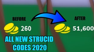 STRUCID ALL WORKING CODES (MARCH 2020)