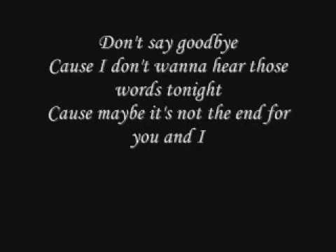 Skillet - Say Goodbye - Lyrics