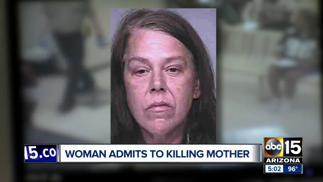 SCOTTSDALE, ARIZONA WHITE WOMAN KILLS MOTHER