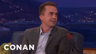 """Frankie Muniz: Bryan Cranston Told Me Not To Do """"Dancing With The Stars""""  - CONAN on TBS"""