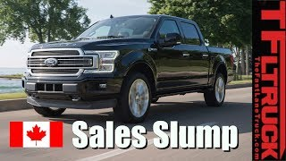 THIS Is The Best-Selling Truck In Canada This Year!   Sales Down Across the Board