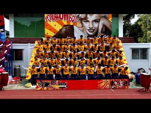 กองเชียร์สีเหลือง  กีฬาจัตวาสามัคคี ' 57