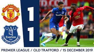 MAN UNITED 1-1 EVERTON | PREMIER LEAGUE HIGHLIGHTS