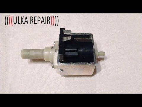 bc8e955c2369fb ulka pump repair clean test , réparation nettoyage teste pompe ulka -  YouTube