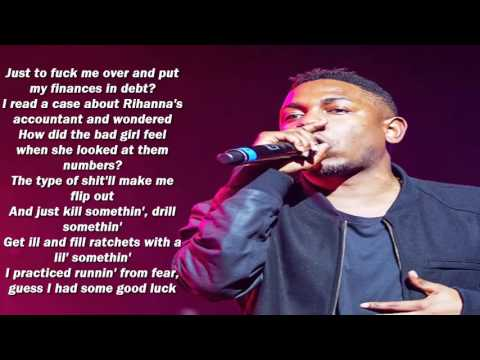 Kendrick Lamar - FEAR (LYRICS 1080p HD)