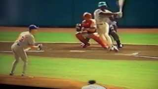 Montreal Expos Turn Triple Play Vs Florida Marlins