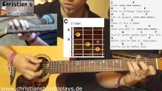★Mickey Silvia LOVE IS STRANGE (Dirty Dancing) | Akustik Gitarre Tutorial [Deutsch] +Tabs★