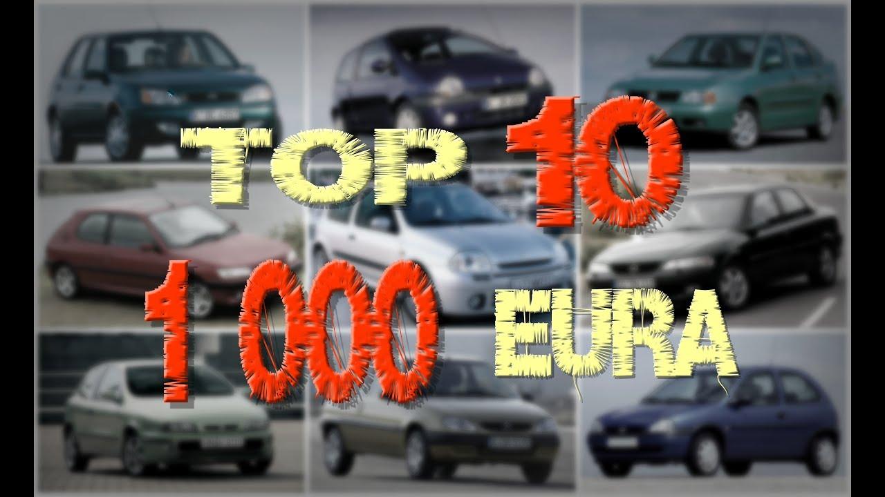 Najbolji Auto Do 1 000