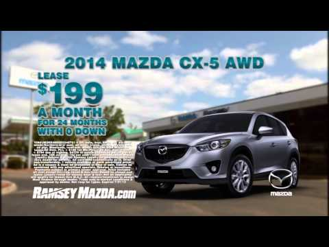 Mazda CX AWD Lease Deal At Ramsey Mazda YouTube - Mazda cx 5 lease specials