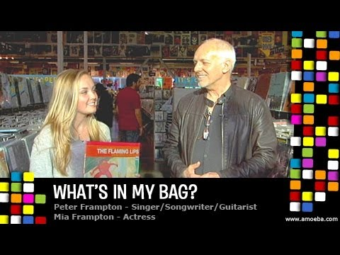 Peter & Mia Frampton - What's In My Bag?