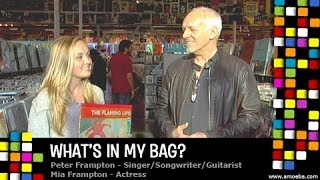 Peter & Mia Frampton - What's In My Bag?
