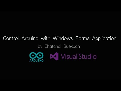 Arduino And Visual C# - Control Arduino With Windows Forms Application