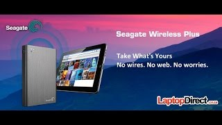 Seagate Wireless Plus drive - Getting started