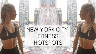 NYC Fitness Hotspots | Healthy Food & The Best New York Gyms (Best Gym In The World)
