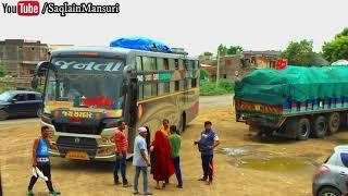 Mumbai Highway || New Kakadiya Bus With Anukool Bus, Atithi Bus, Sitaram Bus, Unity Bus Videos