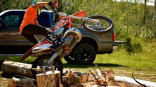 Part 6 - 4 Stroke vs 2 Stroke for Enduro Dirt Bikes - Off Road Riding