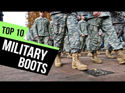 10 Best Military Boots Reviews