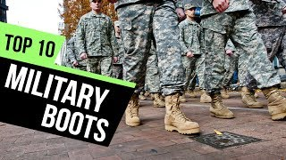 10 Best Military Boots 2018 Reviews
