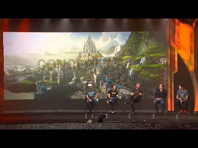 BlizzCon 2013 - Warcraft Film Presentation, Warlords of Draenor Quests, Raids and Gameplay Panels Travel Video