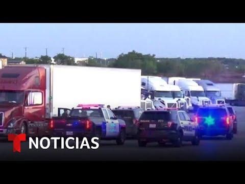 Interceptan un camión que llevaba de 80 a 100 inmigrantes en San Antonio, Texas   Noticias Telemundo