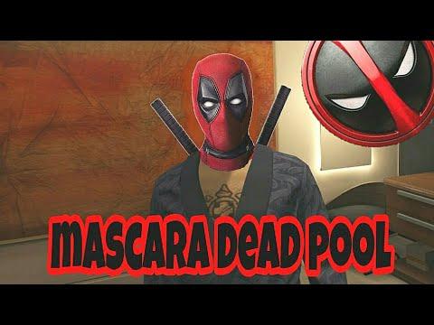MÁSCARA DE DEADPOOL GTA 5 ONLINE PS4