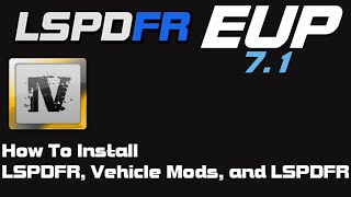 GTA 5 How to install LSPDFR, Vehicle Mods, and EUP