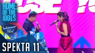 Download lagu TIARA X ANANG HERMANSYAH - LIKE I'M GONNA LOSE YOU - SPEKTA SHOW TOP 5 - Indonesian Idol 2020