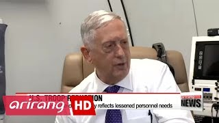 Pentagon chief says U.S. troop reduction in joint exercises not due to North Korea worries