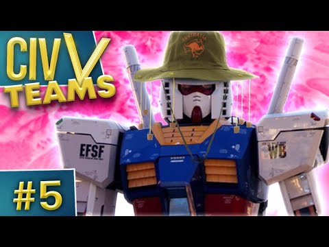Civilization V: Teams #5 - Super Super Robot Super