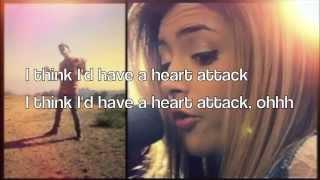 Heart attack (Demi Lovato) - Sam Tsui & Chrissy Costanza cover (lyrics)