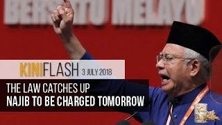 Najib arrested, to be charged tomorrow | KiniFlash - 3 July