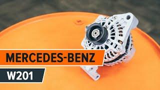 Як так змінимо алтернатор на MERCEDES-BENZ 190 W201 [ІНСТРУКЦІЯ]