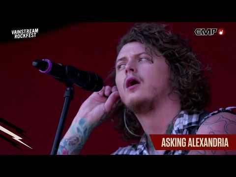 Asking Alexandria LIVE @Vainstream 2018 [Full Set]