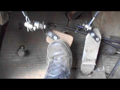 дублирующие педали зил130