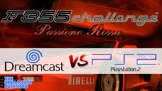 Dreamcast Vs PlayStation 2: Ferrari F355 Challenge
