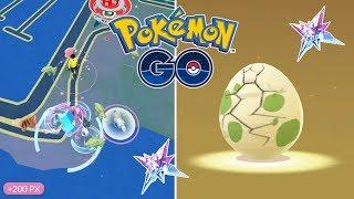 CAPTURANDO POKÉMON Y ABRIENDO HUEVOS CON TROZO ESTRELLA! [Pokémon GO-davidpetit]