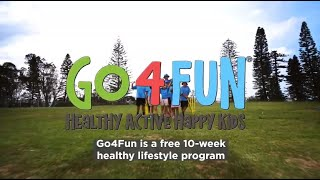 Https://go4fun.com.au/ - 1800 780 900 go4fun is a free new south wales (nsw) healthy living program for kids who are above weight and their familie...