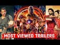 Top 10 Most Viewed Movie Trailers on Youtube of All Time
