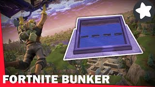 SECRET BUNKER AT FORTNITE (what's inside?)