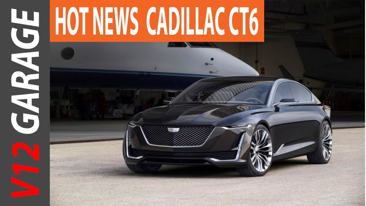 NEW 2019 CADILLAC CT6 Rumors and Review - YouTube
