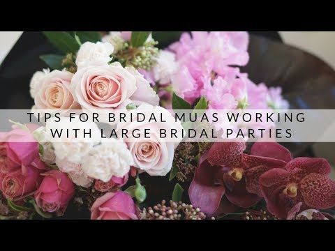MUA'S | How To Work Quickly and Efficiently With Large Brida