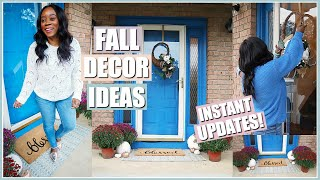 NEW FALL FRONT PORCH! EASY UPDATES FOR THE ULTIMATE OUTDOOR FALL DECOR | CLEAN & DECORATE WITH ME