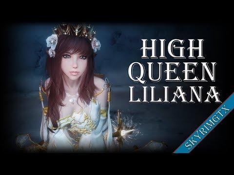 Skyrim: High Queen Liliana Follower 1.00