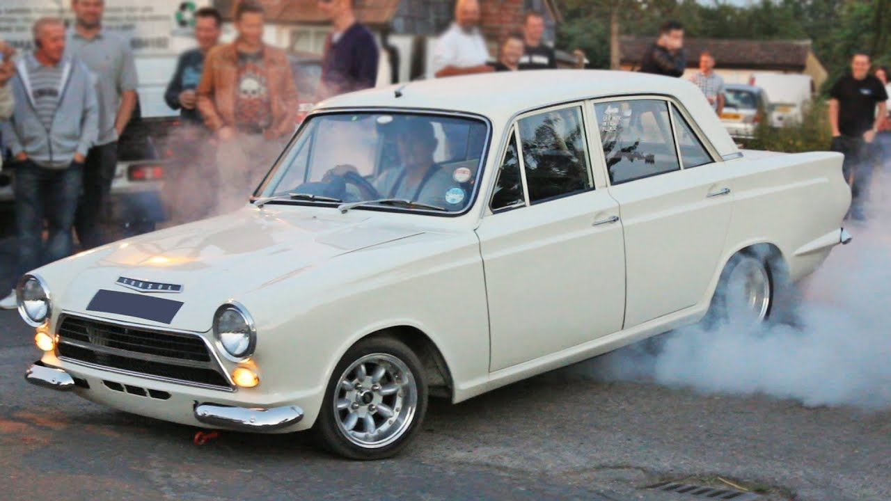 Ford Cortina Compilation Leaving Car Meets Youtube