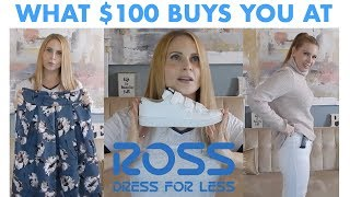 WHAT $100 BUYS YOU AT ROSS | CLOTHING HAUL & TRY ON | skip2mylou
