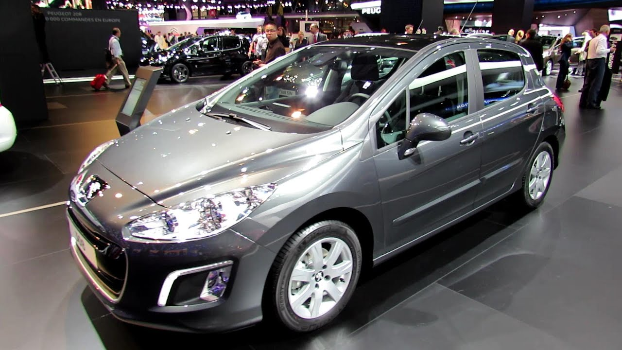 2013 peugeot 308 allure cdi exterior and interior walkaround 2012 paris auto show youtube. Black Bedroom Furniture Sets. Home Design Ideas
